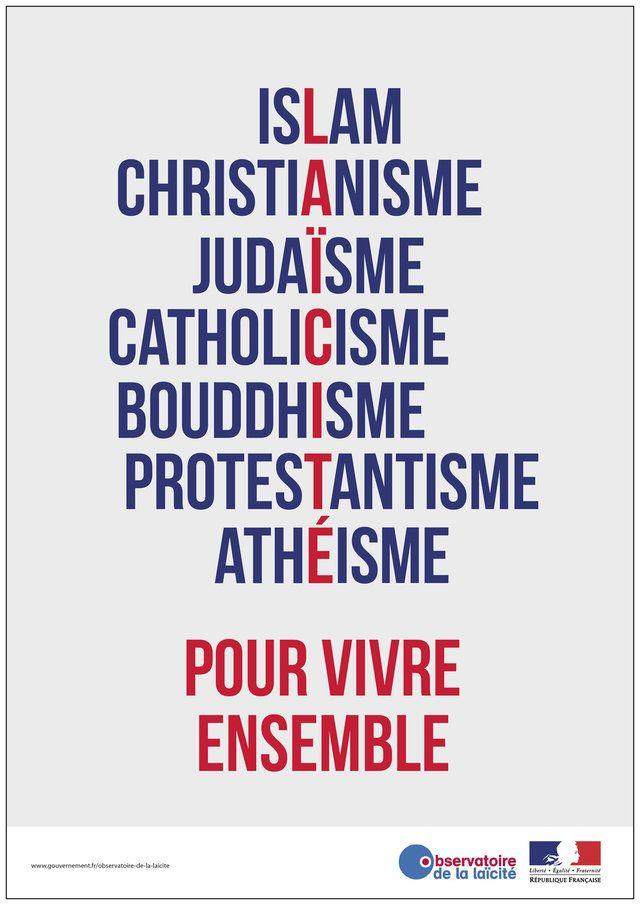 Des affiches pour parler de la laïcité - Laïcité à l'école