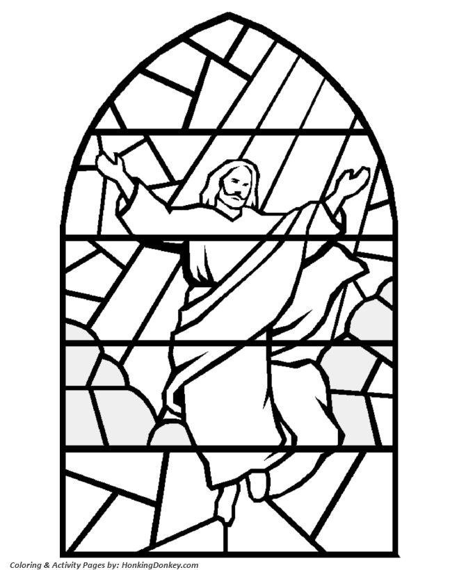 bible coloring pages of jesus - photo#31