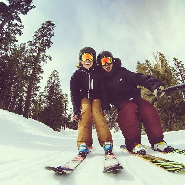 Skiing GoPro. I really want to do this next year!
