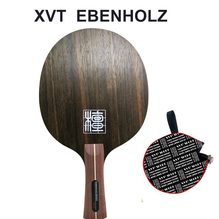 GRAN VENTA Original XVT Ébano Ebenholz 7 Carbon Mesa De Ping Pong/ping pong/table tennis bat Enviar Caso de la cubierta
