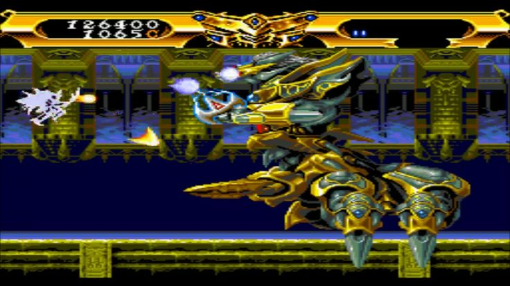 Lords Of Thunder turbografx 16 gameplay only