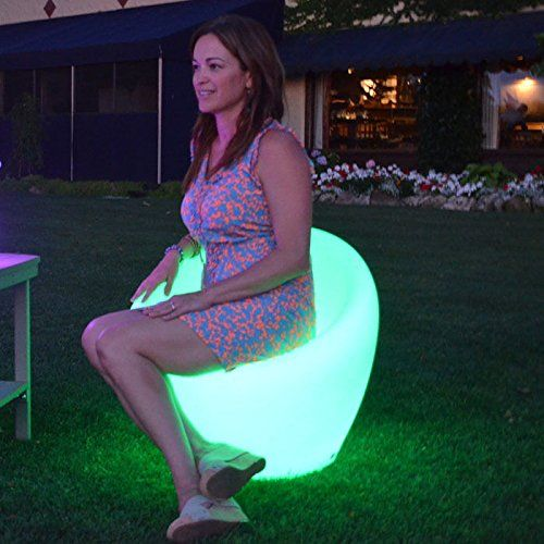 Color Changing Waterproof LED Light - Ibiza Chair - check it out at... http://outdoorlivingandpatioessentials.com/outdoor-furniture/color-changing-waterproof-led-light-ibiza-chair/