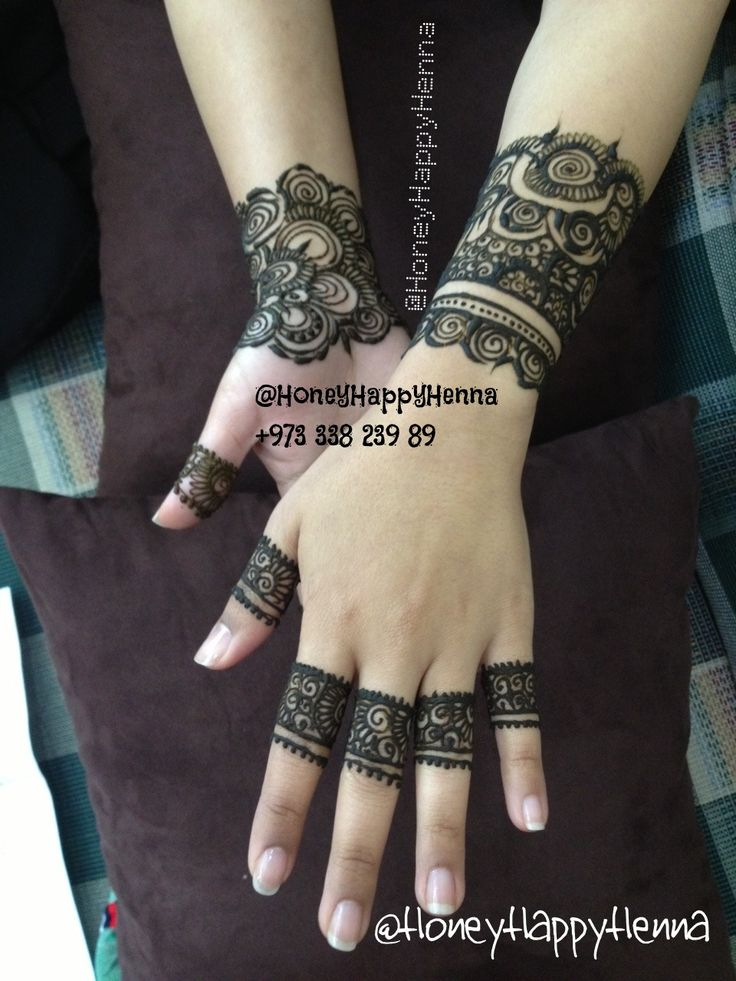 Henna Design - Body Art - Temporary Tattoo