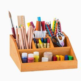 Der Stiftehalter von Minibär selbst entwickelt.  Schafft Ordnung und Übersicht für Stifte, Schere, Radiergummi & Co.