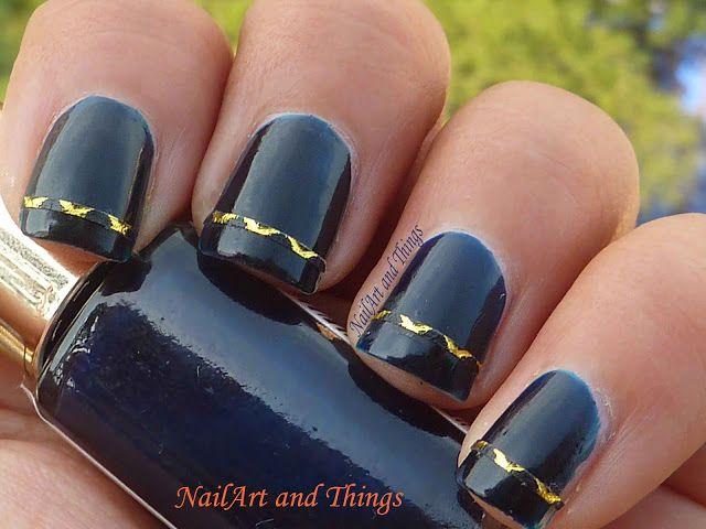 Best 25 tape nail art ideas on pinterest nail art tricks diy striping tape nail art nail art prinsesfo Images