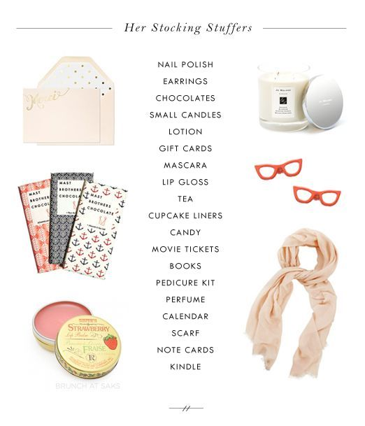 Struggling on stocking fillers? Check out these simple stocking fillers for her