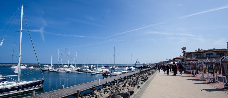 Frühling am Bootshafen Kühlungsborn #Ostsee #Kuehlungsborn
