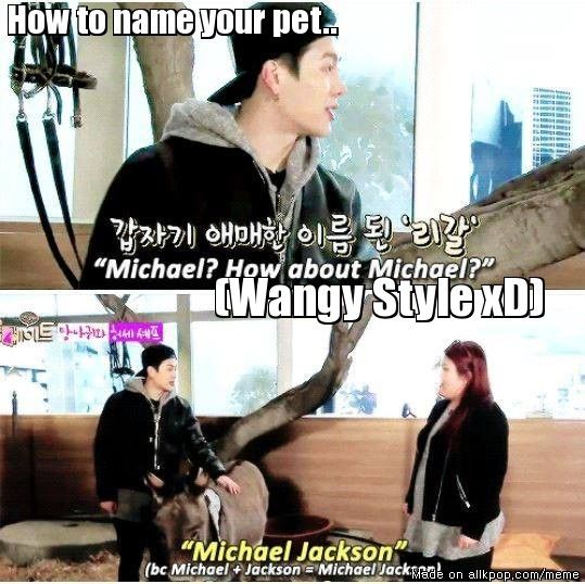 OFFICIALLY: Jackson's donkey is MICHAEL JACKSON :D Welcome to the dorky life of your owner MICHALE JACKSON :D AhGaSes welcome you too to the family!! :D