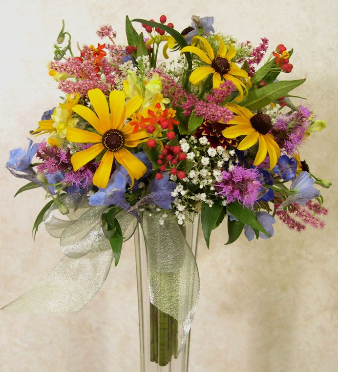Wildflower Arrangements For Weddings Wildflowers Are Our Specialty