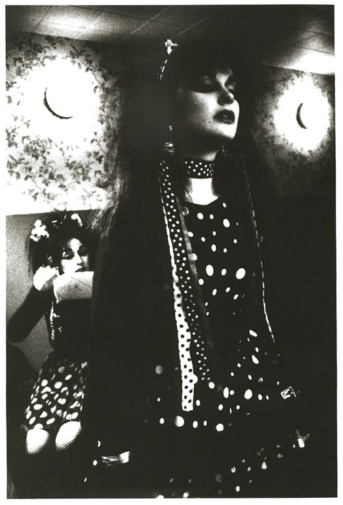 Strawberry Switchblade   #music #band #black #and #white #portrait #doom #pop #1980s #80s #Rose #Mcdowall #Jill #Bryson #Strawberry #Switchblade