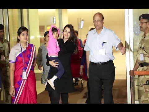 WATCH Aishwarya Rai at Mumbai Airport returns from Cannes Film Festival 2015.  See the full video at : https://youtu.be/nZa3ees6LPQ #aishwaryarai #bollywood #bollywoodnews #bollywoodnewsvilla