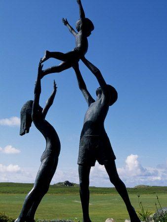 'Children of Tresco', Tresco, The Isles of Scilly