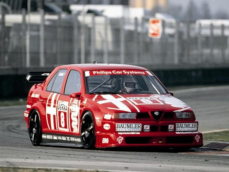 dtm Nicola Larini #8-Alfa Romeo 155 V6 TI-Alfa Corse-DTM 1993