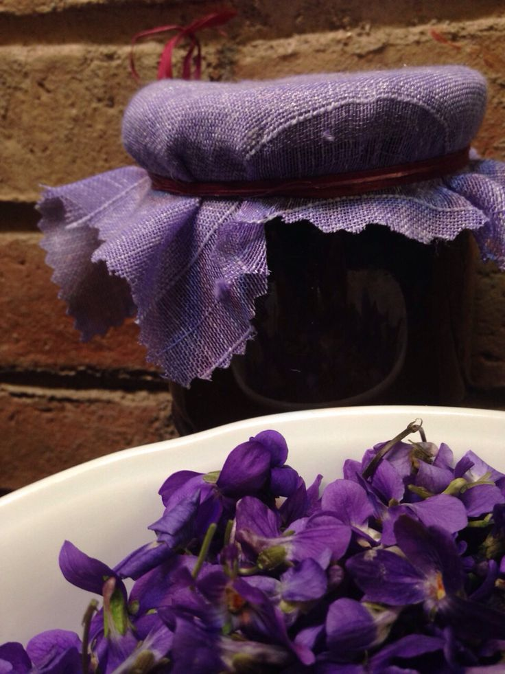 Mermelada de violetas