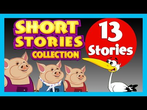 SHORT STORY for CHILDREN (13 Moral Stories) | Three Little Pigs & more - YouTube