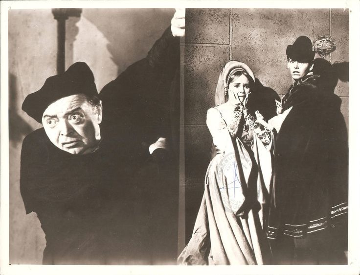 "OLIVE STURGESS, PETER LORRE & JACK NICHOLSON in ""The Raven"" Original Vint. 1963 in Entertainment Memorabilia, Movie Memorabilia, Photographs 