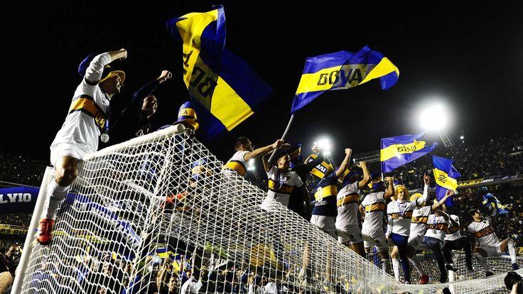 BOCA CAMPEON. Boca se consagró al derrotar 1 a 0 a Tigre en la Bombonera, con gol de Monzón. (German Garcia Adrasti)