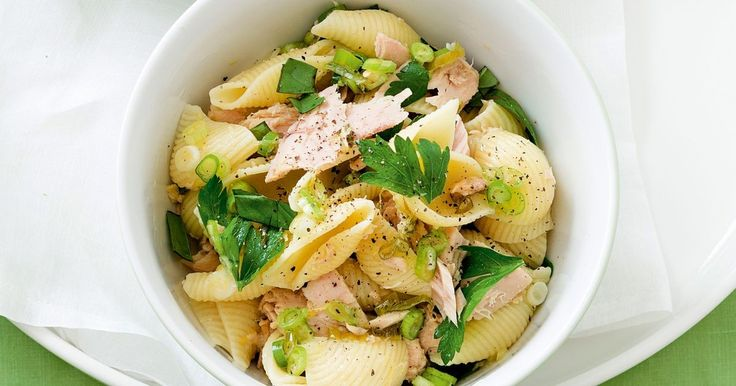The family will be devouring these zesty tuna pasta shells by the mouthful in under 30 minutes.