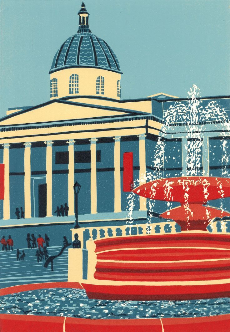The National Gallery by Jennie Ing | Artfinder
