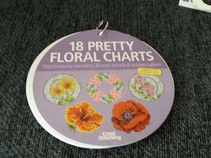 18 Pretty Floral Charts Hardcopy