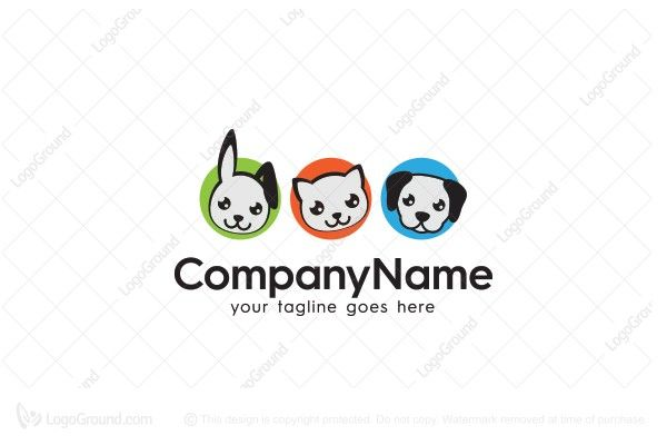 Exclusive Logo 75819 Pets Logo Animal Logo Pet Logo Design Pets