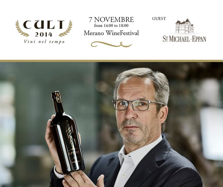 St. Michael Eppan - CULT 2014 - The pioneers of quality. | Merano WineFestival
