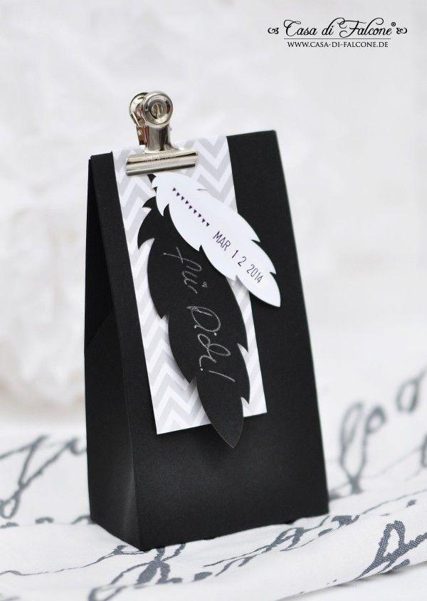 Lasercut feder I feather I Geschenkschachtel I Geschenverpackung I packaging I Casa di Falcone