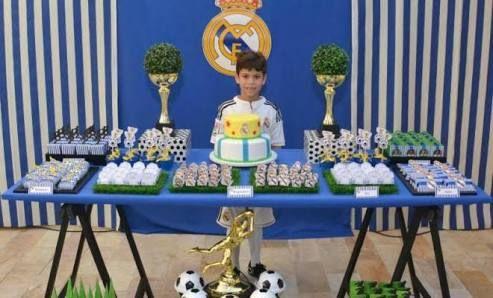 Resultado de imagen para real madrid festa infantil