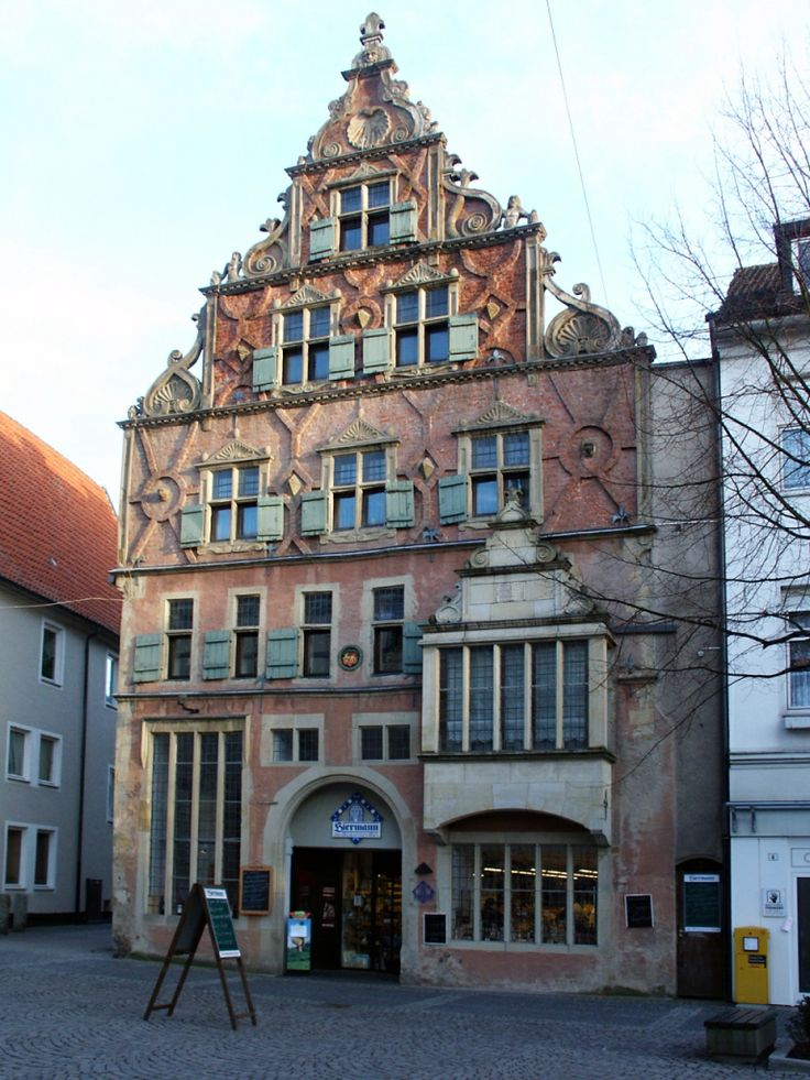 Herford, Germany - on the way to the Neue Markt.