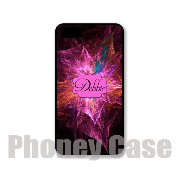 Floral Fractal Iphone 4 4s 5 5s 5c Personalized by PhoneyCase, $15.00