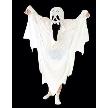 Disfraz de Fantasma (Niño o Niña) para Halloween. Ghost costume (boy or girl) for Halloween.