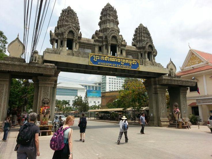 Cambodia  arriving