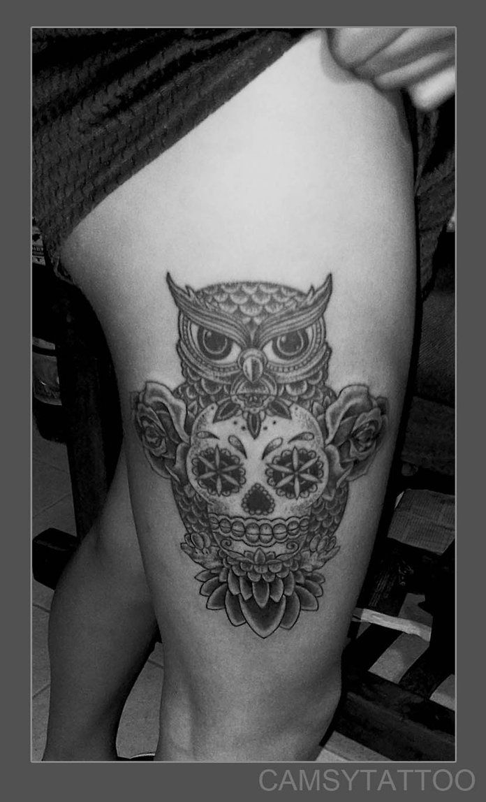 Uncategorized/virgo tattoos designs and ideas find your tattoo/virgo tattoos designs and ideas find your tattoo 27 - Skull Owl Tattoo By Camsy On Deviantart Traditional Owl Tattoostraditional Inkface Tattoostatoossugar Skullstattoo Designstattoo Ideasowl