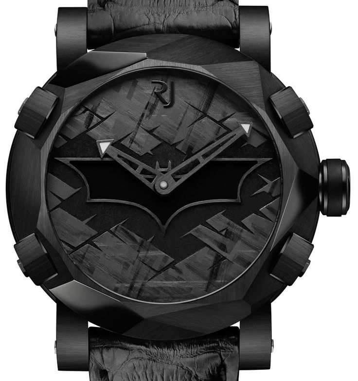 Debut of the Romain Jerome RJ Batman-DNA limited edition of 75 wrist watch priced at $18,500.