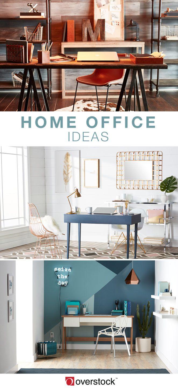 12 best Home Office Ideas images on Pinterest | Desk ideas, Office ...