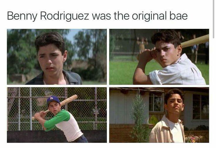 The original Bae was Benny Rodriguez