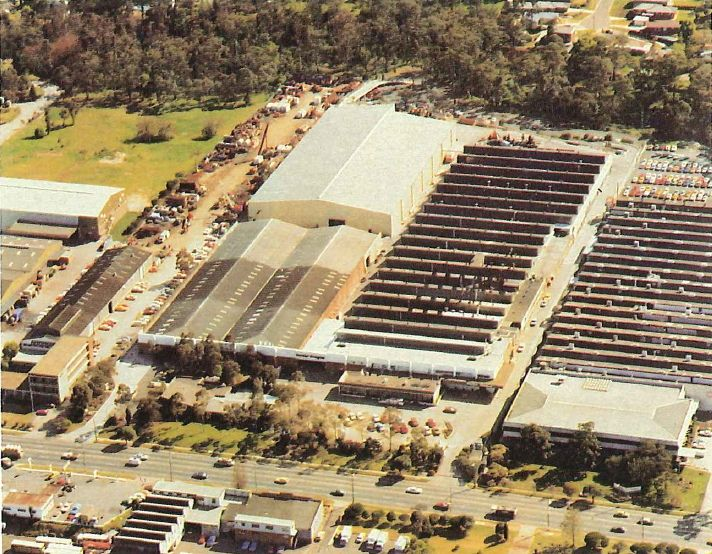 This is a photo of our Manufacturing base in Rydalmere, Sydney taken around 30 years ago... a lot has changed since then but we're still here supporting local jobs with people dedicated to making beautiful, quality window coverings. #Luxaflex60
