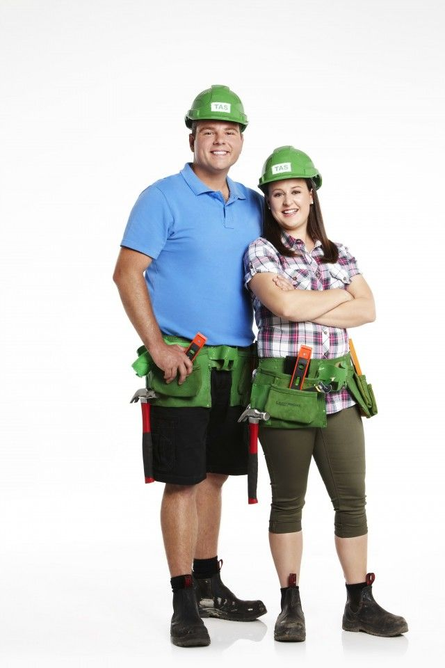 Post House Rules reveal chat with contestants Brooke and Grant #houserules #brookeandgrant #renovating #channel7
