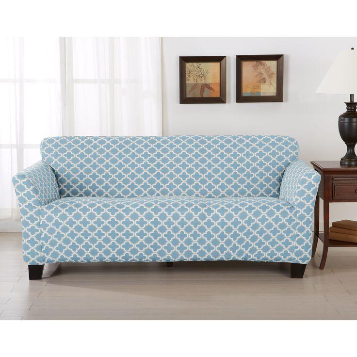 Sofa Sleeper Great Bay Home Brenna Strapless Sofa Slipcover