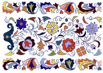 Татарский орнамент - узор для вышивки