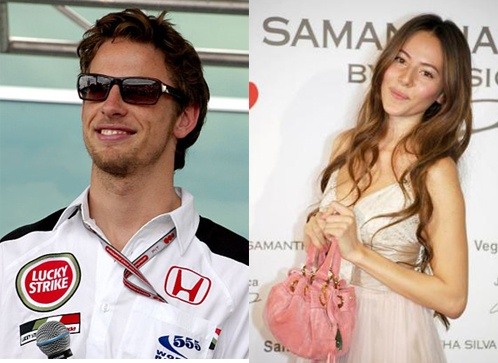 Read more here about Jenson Button and his girlfriend.
