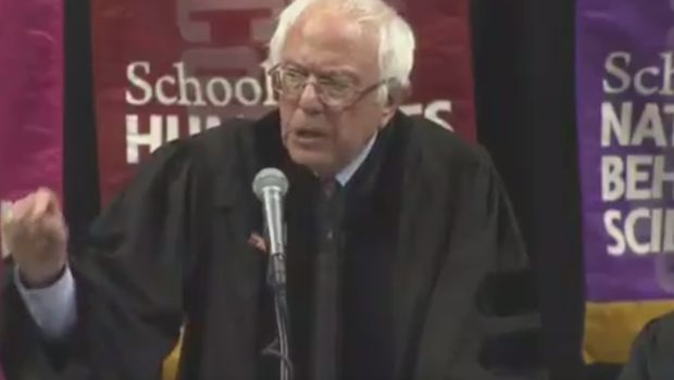 "#Media #Oligarchs #Banks vs #union #occupy #BLM #SDF #Humanity  Watch: Bernie Sanders' commencement speech at Brooklyn College  https://qz.com/994476/video-bernie-sanders-commencement-speech-at-brooklyn-college/   During a commencement speech for Brooklyn College in New York, Bernie Sanders spoke about a social-studies lesson at his high school, which is not far from where he was delivering his remarks.  There, decades ago, Sanders learned the meaning of ""oligarchy"" — a political system…"