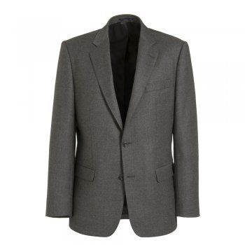 A beautifully tailored 2-peice Magee suit, with a classic mid-grey flannel wool fabric. The Nice style is regular fitting. Jacket features include, 2 buttons, side vents, straight pockets and internal pockets. Trouser features include, belt loops. A staple suit for your winter wardrobe.