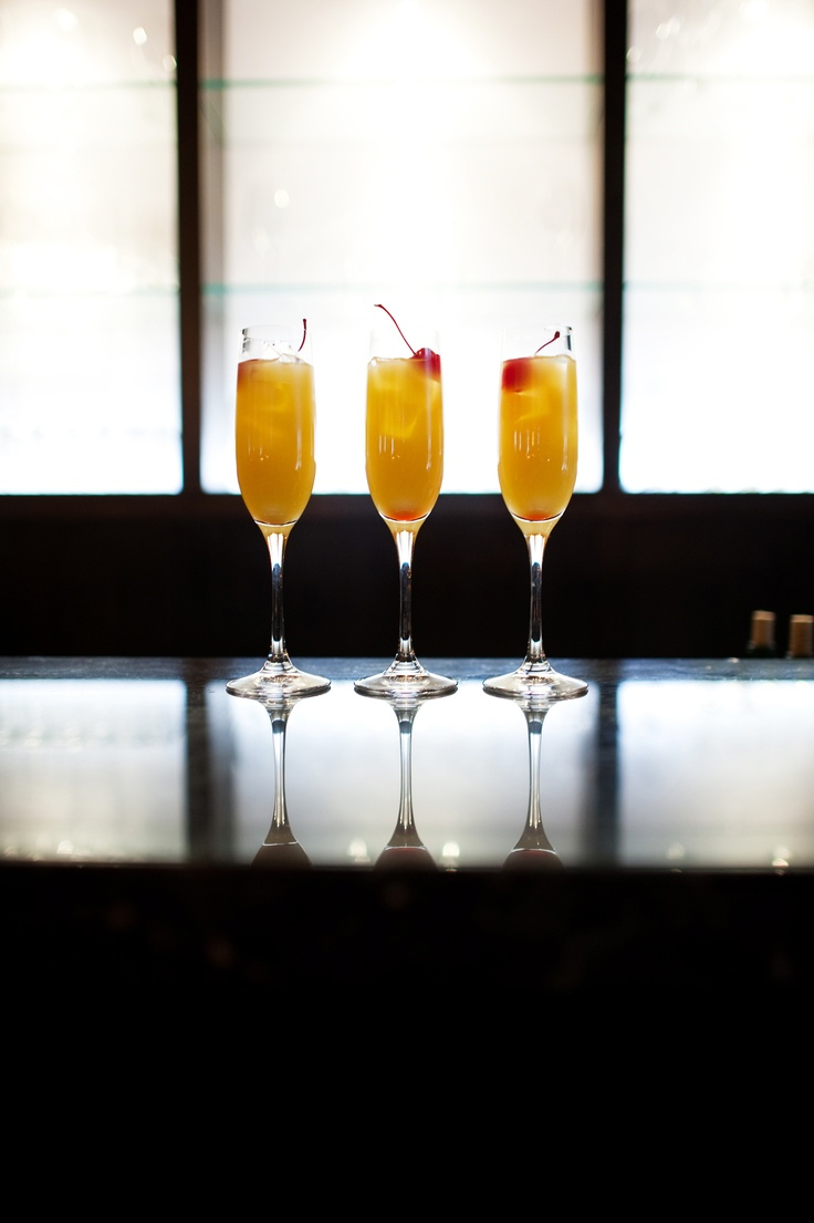 Mimosa | orange juice, cava, cherry