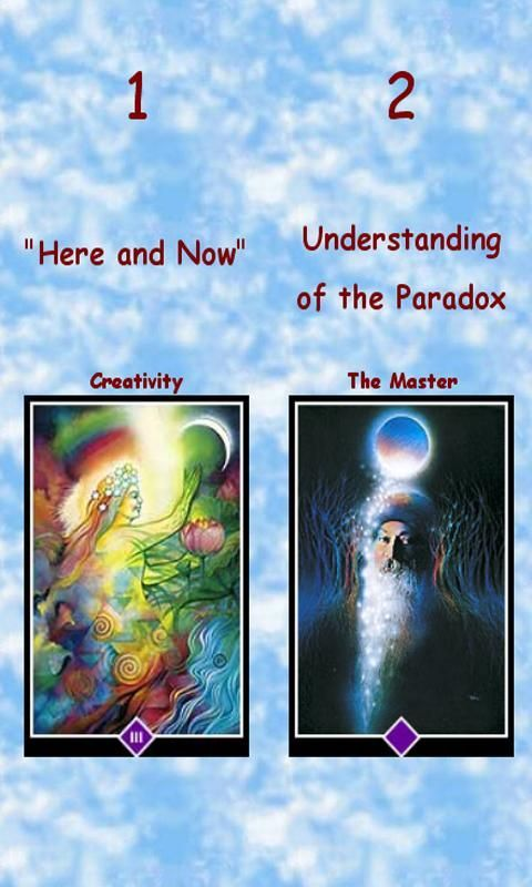 Discover the amazing world of zen with the Osho's tarot card system.<br/>let advanced random algorithms combined with the ancient zen wisdom to reveal answers to any question you may have.<br/><br/>What will happen to me in the future?<br/>What will effect my decision?<br/>Should I open up to my partner?<br/><br/>Try it and be amazed from the results !<br/><br/>This is the transcendental game of Zen.<br/>The Osho Tarot system is a mind game.<br/>In this game you'll be the only player.<br/>No…