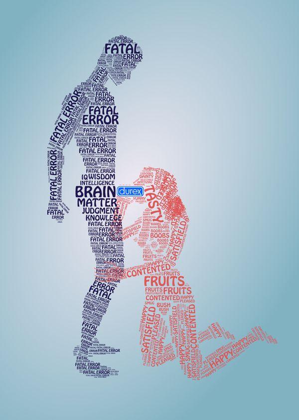 #publicidad #creatividad #condón. Da igual a donde vayamos, estamos mediatizados por la publicidad