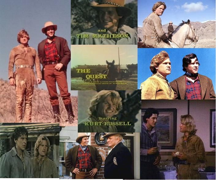 The Quest with Kurt Russell and Tim Matheson on 1976