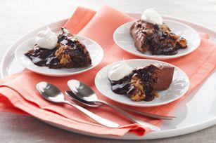 Amazing Peanut Butter-Chocolate Molten Cake recipe