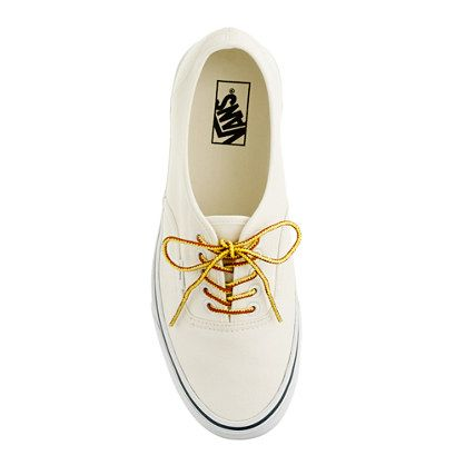 Vans® for J.Crew canvas authentic sneakers - sneakers - Women's shoes - J.Crew