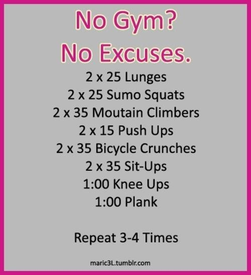Best 25+ No Gym Workouts Ideas On Pinterest